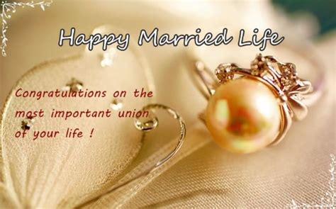 happy wedding wishes    card