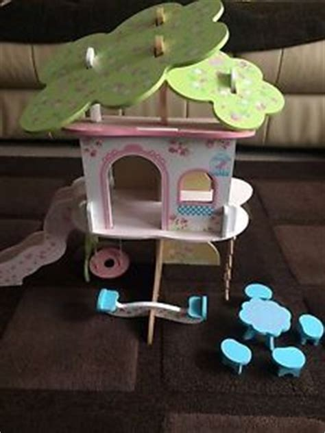 early learning centre dolls house wooden elc rosebud tree house wooden toy doll house early learning centre ebay