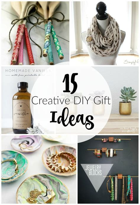 Creative Handmade Gifts For - 15 creative diy gift ideas house of four