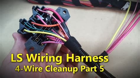 ls wiring harness part  project rowdy ep youtube