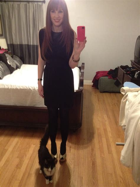 back to black with my black dress and sparkly