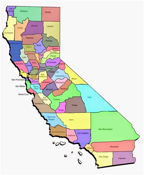 ca county map printable us state maps free printable maps