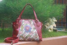Arimbi Sogan phyton bags from batik material made in indonesia