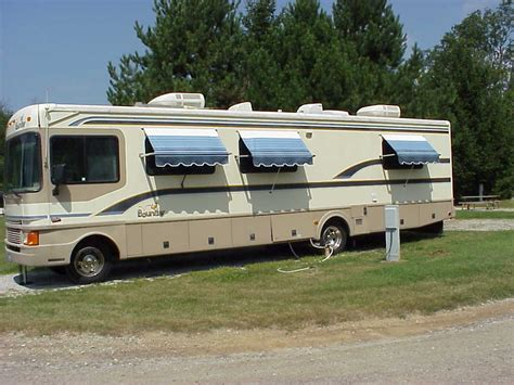 motorhome window awnings awnings