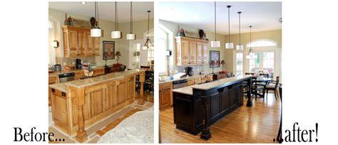 cabinet refinishing luxe walls