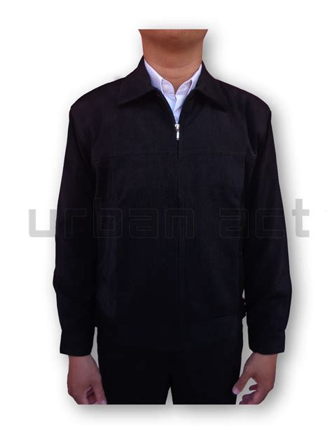 Manset Badan By Nindah Fashion jual jaket pria manset zipper bahan formal casual
