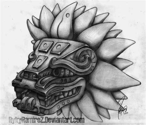 flash tattoo yazi quetzalcoatl junglekey fr image