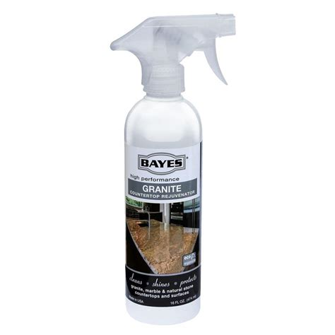 bayes 16 oz high performance granite countertop cleaner