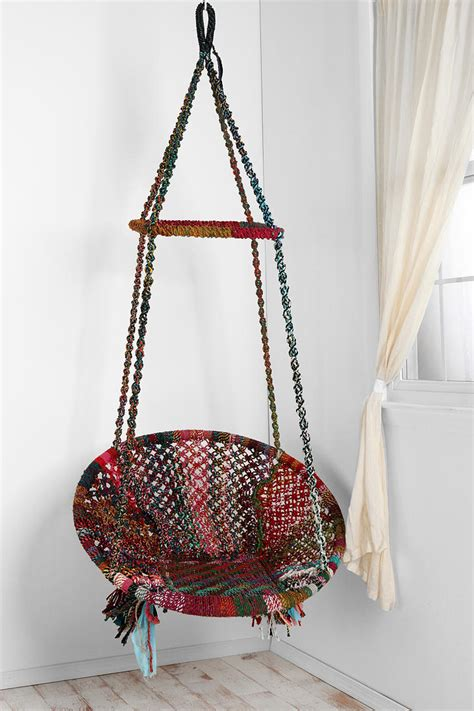 how to hang a swing chair from the ceiling this hanging chair may be the best thing that ever