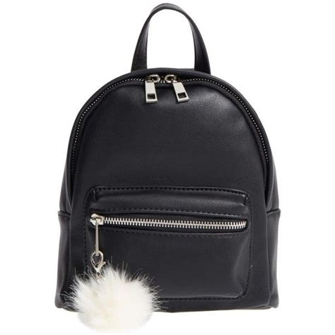 Tas Mini Backpack Swit Pompom Bag s bp faux leather mini backpack 120 brl liked on polyvore featuring bags backpacks