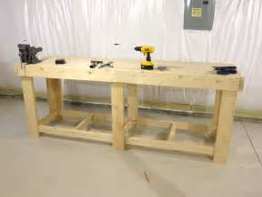 work benchs work bench table plans workhome