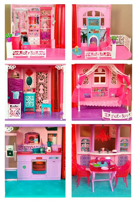 barbie house tour barbie has moved check out her brand new dreamhouse rockin mama