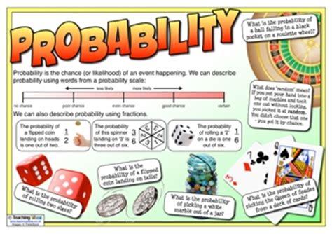 probability poster | teaching ideas