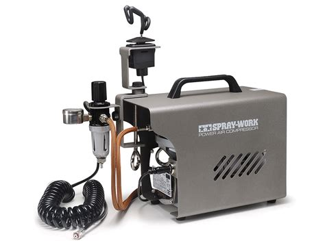 spray work power air compressor