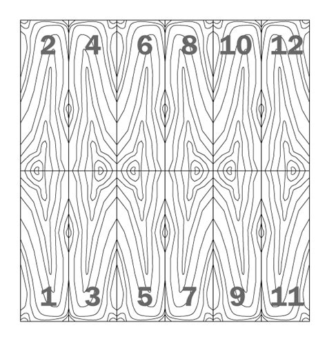pattern match on types wood veneer matching end matching archtoolbox com