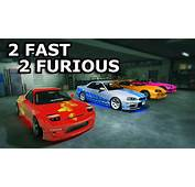 GTA V  2 Fast Furious Cars Customizing YouTube