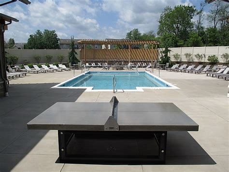 outdoor concrete pool table outdoor ping pong tables for apartment communities doty