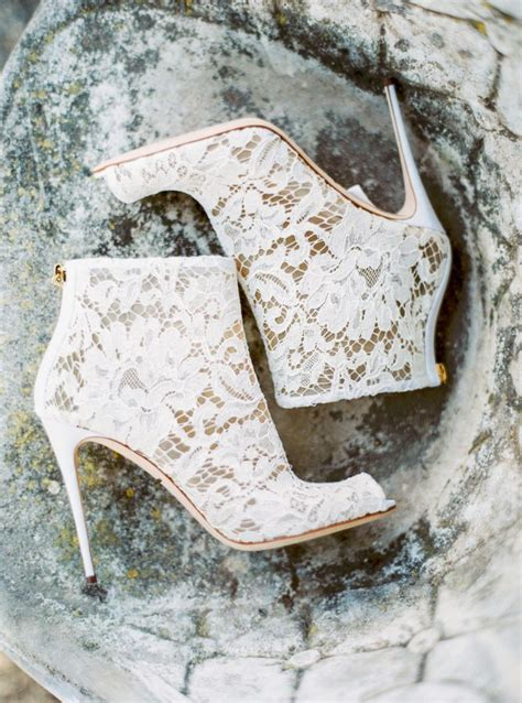 Wedding Shoe Boots by 25 Best Ideas About Lace Wedding Shoes On