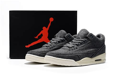 cheap jordans basketball shoes cheap air 3 wool grey sail basketball shoes