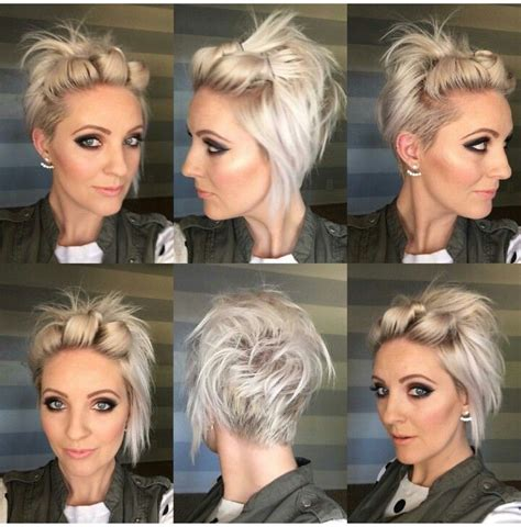 gray hair in your 30s ooooo another way to style my hair hair pinterest