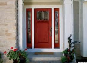 Front Door Colors With Red Brick by What Does Your Front Door Say About You