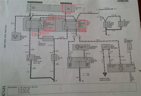 w124 climate wiring diagram circuit and