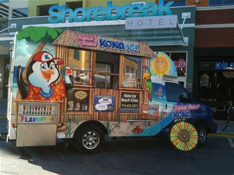mobile shaved ice truck franchise business opportunity