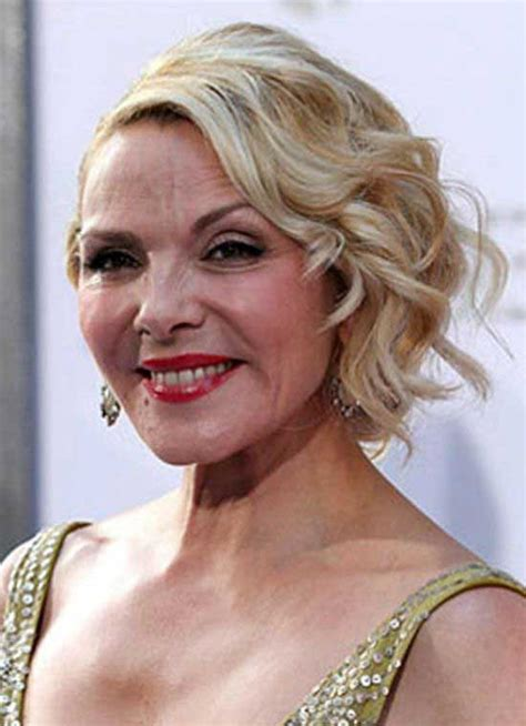 kim cattralls very short hairdos over the yearsaa 25 stylish short hairstyles for women over 50