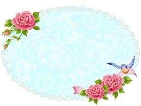 Freebie image shabby blue rose frame free pretty things for