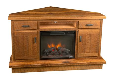 corner entertainment center fireplace reclaimed barnwood corner entertainment center