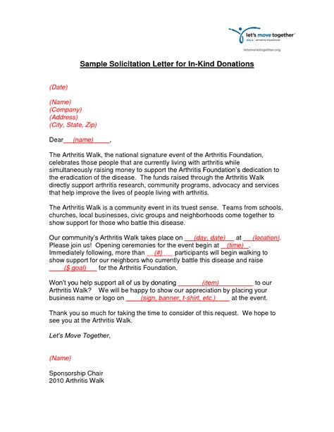 charity solicitation letter sle charity solicitation letter sle 28 images sle
