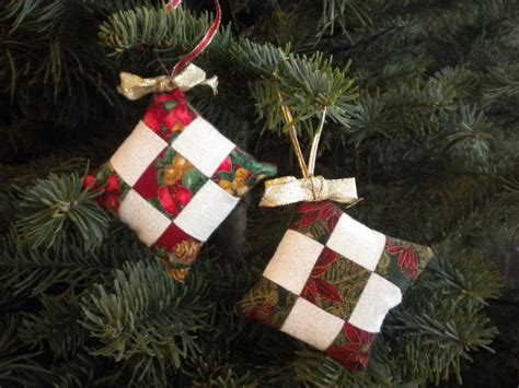 25 best ideas about quilted christmas ornaments on