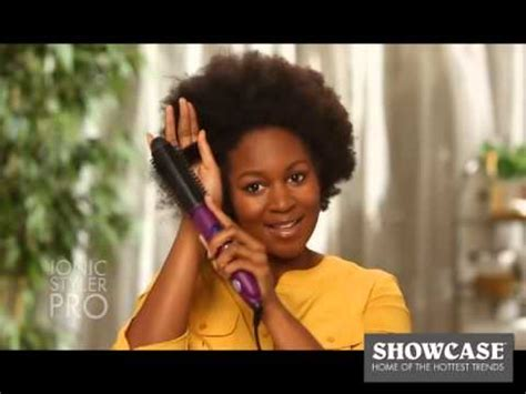 Perfector Hair Styler Infomercial by Styling Brush Infomercial Askhomedesign