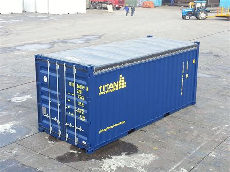 Open Rack Container by Container Typer Titancontainers Se