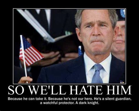 George Bush Memes - the dark night george w bush know your meme