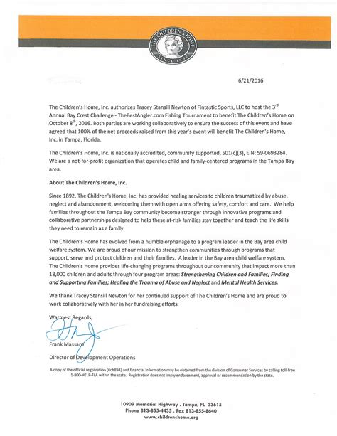 Authorization Letter Usmc Childrens Home Authorization The Best Angler