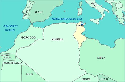 africa map yourchildlearns map of tunisia gif map pictures