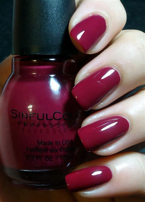 sinful colors swatches breezythenailpolishlover sinful colors leather luxe swatches