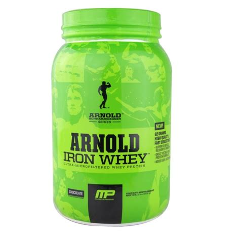 Arnold Whey Arnold Schwarzenegger Iron Whey Protein 908g