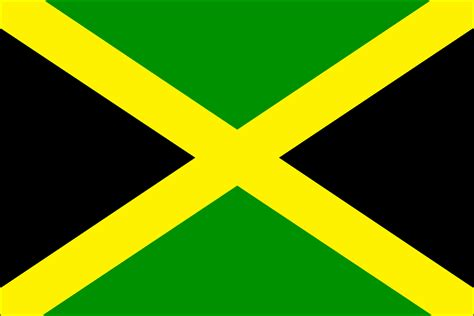 jamaican colors flag of jamaica jamaica jamaica flag