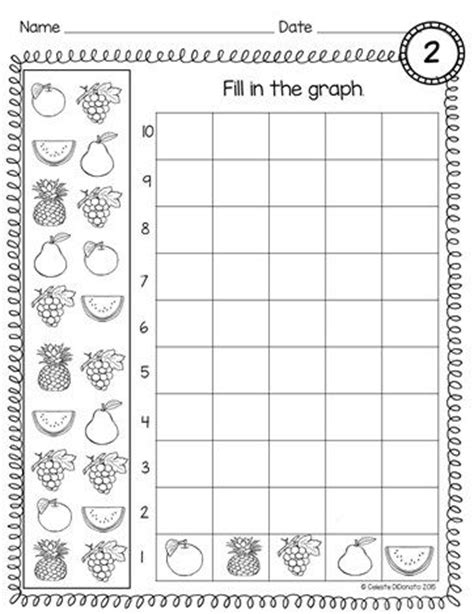 printable graphs for preschoolers printable graph sheets for kindergarten graph paper