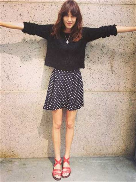 OMG! Alexa Chung reveals super skinny legs and bony knees ... Fitness Competition Diet