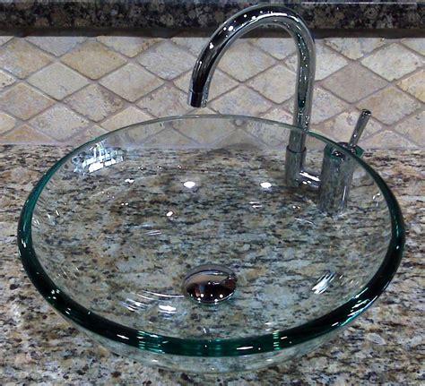 bathroom glass bowl sink bathroom 16 glass sink ideas for bathroom stylishoms