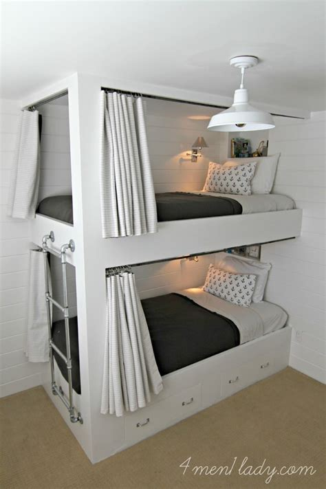 diy bunk bed 9 amazing diy bunk beds decorating your small space