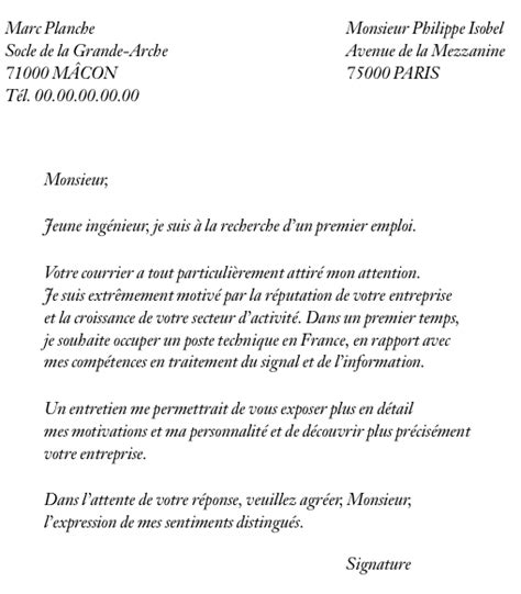 Ecole De Commerce Lettre De Motivation Lettre De Motivation Pour Ecole De Commerce