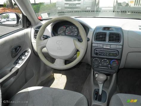 Hyundai Accent 2001 Interior by 2001 Noble White Hyundai Accent Gl Sedan 64505091 Photo