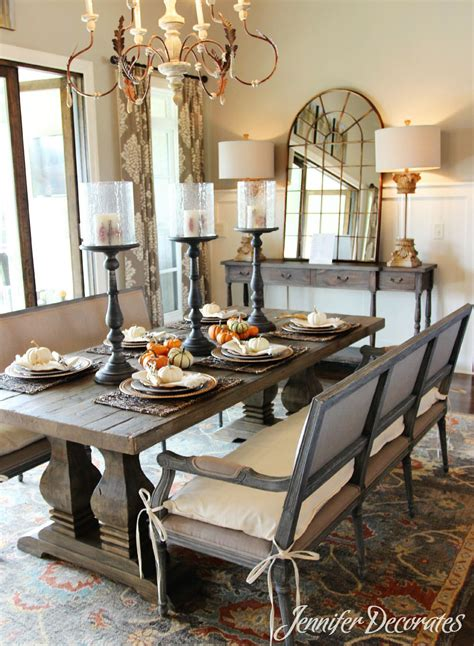 fall dining room table decorating ideas fall table decorations that are easy and affordable
