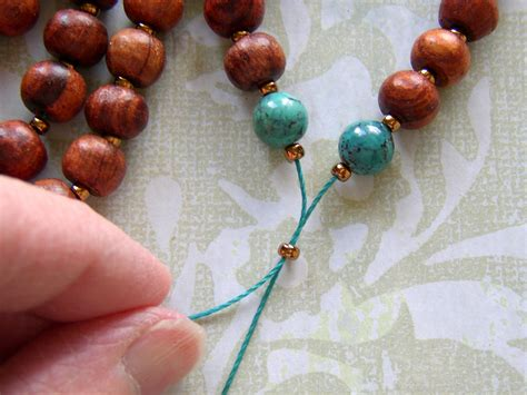 how to make mala make a tassel necklace with prayer rings and things