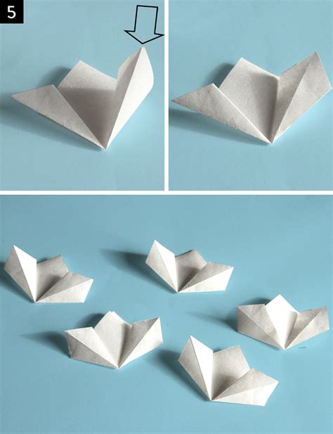 7 Paper Fold - step by step kusudama flower