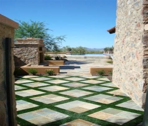 Landscape With Pavers Arizona Concrete Patio Pavers Do It Do It Yourself Paver Patio